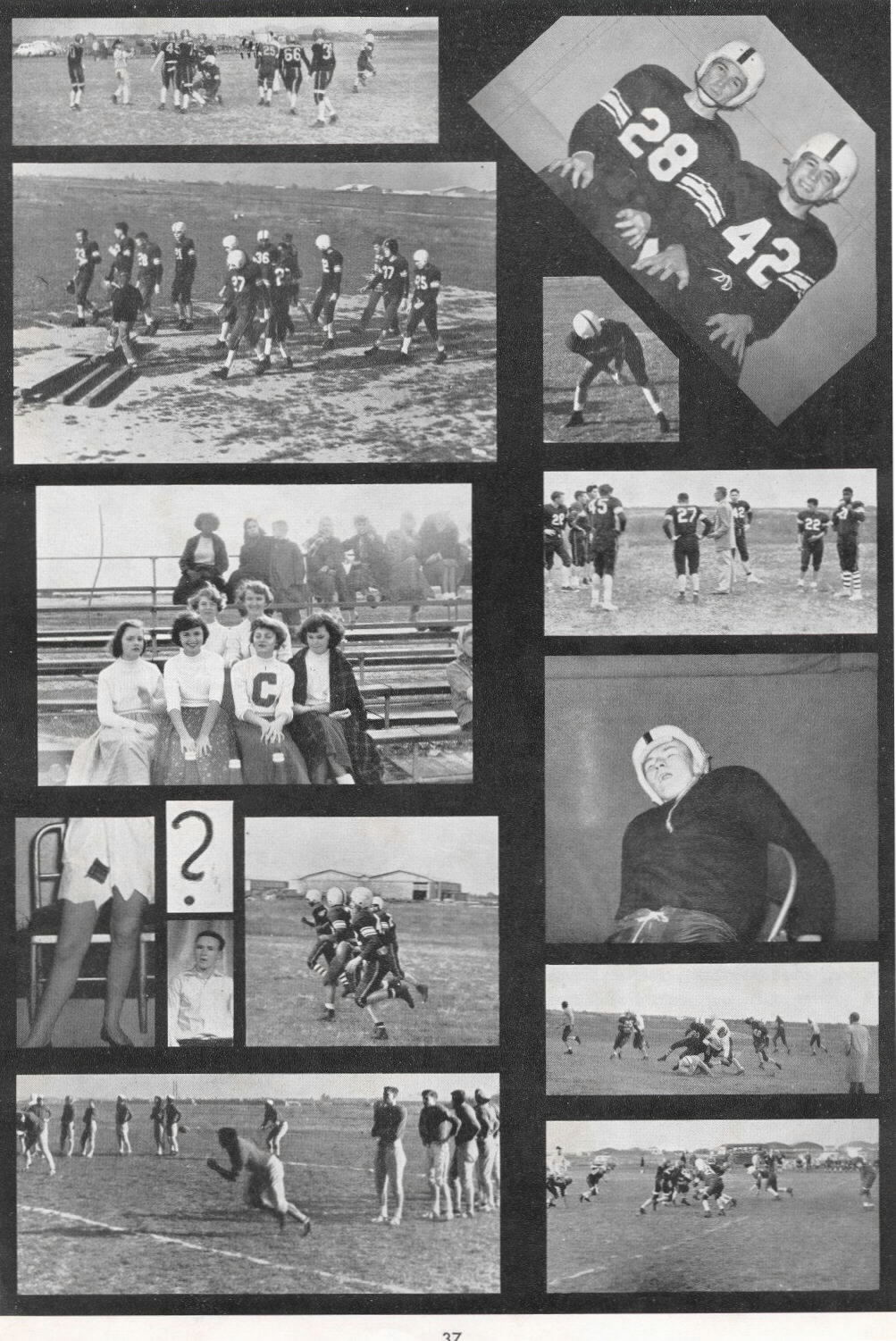 Chateauroux American High School - 1956 Yearbook Taylor Crowley